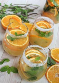 Tangerine Ginger Sake Sangria