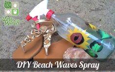 DIY Beach Waves Sea Salt Spray Recipe Cheap and works great DIY Beach Waves Spray. Best recipe for Hair Spray. Add lemon juice or chamomile tea. Beach Wave Spray, Beach Wave Hair, Surf Spray, Diy Beauty, Beauty Hacks, Beauty Tips, Beauty Ideas, Beauty Secrets, Beauty Solutions
