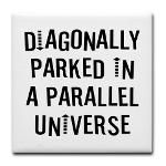 Diagonally Parked Parallel from http://LabelMeHappy.com