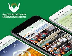 """Check out new work on my @Behance portfolio: """"Sharjah Charity App"""" http://be.net/gallery/36924825/Sharjah-Charity-App"""