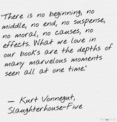Kurt Vonnegut- Slaughterhouse-five