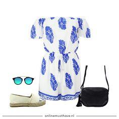 Een zonnige outfit voor een zonnige zomerdag! Met deze look blijf je koel en fabulous. Love it! 🐳