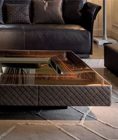Lord coffee table by Longhi. Longhi's rich collection of furnishings and doors offers great options for luxury modern interior design. New Furniture, Luxury Furniture, Furniture Design, Contemporary Coffee Table, Modern Side Table, Contemporary Bedroom, Living Room Modern, Living Room Designs, Center Table Living Room