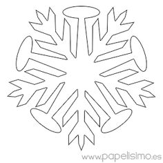 10 Mejores Imágenes De Copo De Nieve Dibujo Christmas Crafts Xmas