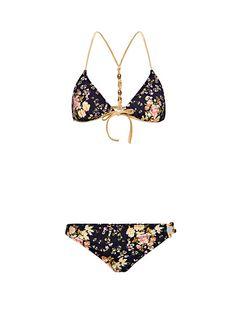 MANGO - TOUCH - Çiçek desenli bikini by Guillermina Baeza