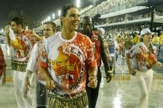 Rafael Nadal enjoys the Rio Carnival with David Ferrer and Gustavo Kuerten [PHOTOS/VIDEO] | Rafael Nadal Fans