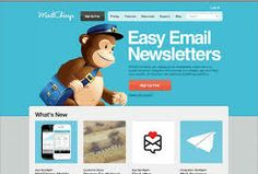 Simple Mail Chimp Signup Forms Mail Chimp is one of the net's most popular email newsletter services. This is a little plugin that adds several ways for you to add email list signup forms to your WordPress website Html Email Templates, Email Template Design, Free Email Marketing, Email Marketing Campaign, Mail Chimp Templates, Responsive Email, Best Email, Newsletter Design, Email Newsletters