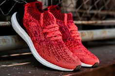 the best attitude f7771 68981 adidas Originals Ultra Boost Uncaged Scarlet Solar Red