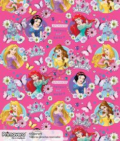 Papel Regalo Princesas 1-18-949 http://envoltura.papelesprimavera.com/product/papel-regalo-princesas-1-18-949/
