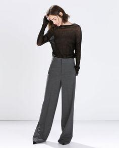 Image 1 of ORGANZA SWEATER from Zara