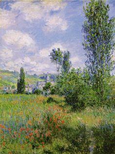 Claude Monet, View of Vétheuil, 1880