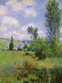 Claude Monet, View of Vétheuil, 1880