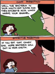 SMBC. Good vs. effective parenting.