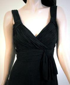 cfc1ca55d0a43 Karen Millen Silk Chiffon Drapped Dress Karen Millen