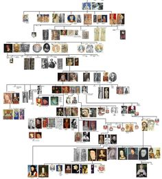 Plantagenet family tree - Henry II, the son of Geoffrey Plantagenet and Henry I's daughter Matilda, was the first in a long line of 14 Plantagenet kings, stretching from Henry II's accession through to Richard III's death in 1485. Within that line, however, four distinct Royal Houses can be identified: Angevin, Plantagenet, Lancaster and York.