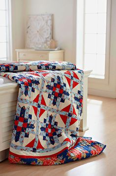 Hollyhill Quilt Shoppe & Mercantile design- Minick and Simpson fabrics