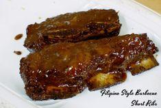 [Filipino Style] Barbecue Short Ribs – The Sweet & Savory Side of Me Ube Cupcake Recipe, Cupcake Recipes, Dessert Recipes, Irish Recipes, Filipino Recipes, Filipino Food, Filipino Desserts, Asian Desserts, Asian Recipes