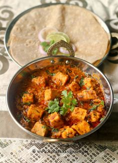 Paneer Kurma | Paneer Korma Cottage Cheese in a Spicy Yogurt Gravy