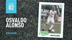 Seattle Sounders FC | Trading Card No. 2  Name: Osvaldo Alonso Age: 31 Position: Midfielder  Collect all 10! #SEAvPOR
