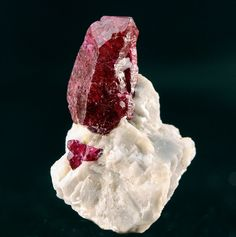 Corundum var. Ruby - Jagdalak Ruby Mine, Sorobi District, Kabul Province, Afghanistan, Asia