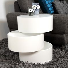 ABC Home Scandinavian Style Coffee Table White Modern Furniture for sale Cool Furniture, Modern Furniture, Furniture Design, Painting Furniture, Futuristisches Design, Interior Design, Modern End Tables, Small Tables, End Tables With Storage