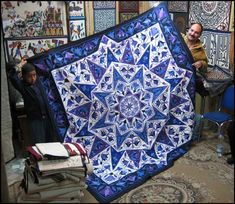 Applique Quilts made by Cairo Tentmakers 7 Applique Patterns, Applique Quilts, Quilt Patterns, Egyptian Crafts, Ramadan Crafts, Flower Quilts, Contemporary Quilts, Traditional Quilts, Ancient Art
