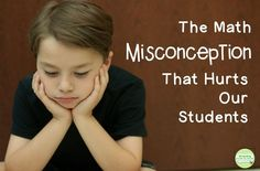 Help your students understand basic facts and their place in math. http://growinggradebygrade.blogspot.com/2016/09/the-math-misconception-that-hurts-our.html