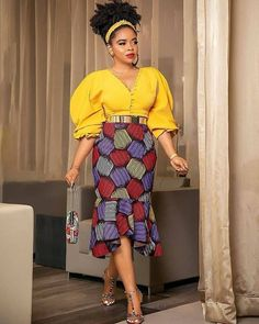 Ankara Styles gives an incredible outlook and bring the best fashion in you.In Africa and whole wide world Ankara has been widely Accepted because of its Latest Ankara Gown, Ankara Short Gown, Ankara Skirt And Blouse, Ankara Gown Styles, African Wear Dresses, African Fashion Ankara, African Print Fashion, African Style, African Outfits