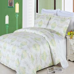 100% Egyptian Cotton Duvet Cover Bedding Set - Lana Comforter Cover Duvet $89.99