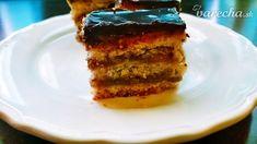 Rezy žerbo podľa autora pána Gerbeaud - recept   Varecha.sk Panama, Tiramisu, Ethnic Recipes, Food, Panama Hat, Essen, Meals, Tiramisu Cake, Yemek