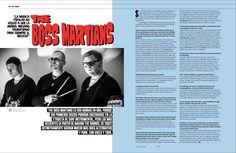 Música: The Boss Martians #MinimalDesign #Minimal #RevistaMarvin #Marvin #ArtDirection #Magazine #EditorialDesign #Editorial #GraphicDesign #SurfGarage #Surf #Garage #Wildo #wildofest #bossmartians