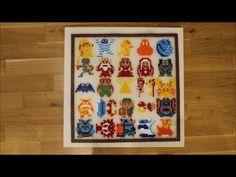 DIY: Bügelperlen Bild The Legend of Zelda / Perler Bead Picture / 45 x 4...