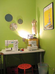 sewing corner   alison + nicholas   Flickr
