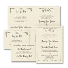 Captivating Love Sep 'n Send Wedding Invitation