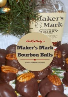 These Maker's Mark Bourbon Balls will have your guests swear you are ...