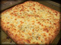 Cut the Wheat, Ditch the Sugar: Cheesy Garlic Bread: Grain and Gluten Free + Low Carb