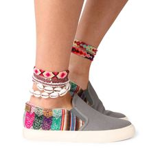 Slipo gris claro | MIPACHA Shoes | Spring/Summer 2015 | Handmade in Peru | Festival Shoes
