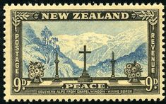 King George VI New Zealand 1946 Peace Issue