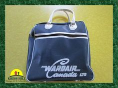 Retro WARDAIR Canada Ltd Airlines Footed by KressHillVintage, $30.00