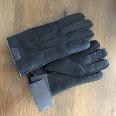 c716a66a082fb Ugg Mens Black Gloves L G  fashion  clothing  shoes  accessories   mensaccessories  glovesmittens (ebay link)