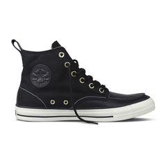 Converse - Chuck Taylor All Star Classic Hi Black Boot e7c592360