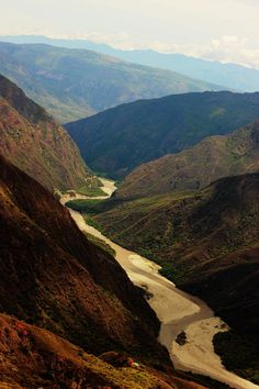 Cañón del Chicamocha en Santander #colombia