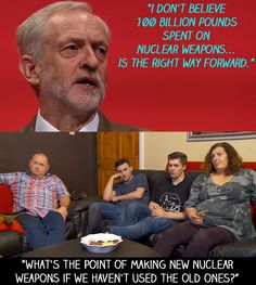 "This by Tom Malone, during a big Corbyn speech. | 18 Times ""Gogglebox"" Failed So Much It Actually Won"