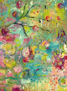 'Cherry' by | Annie Lockhart – soulful paintings