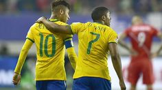 Neymar y Douglas Costa figuras en la lista de Brasil para JJOO - ESPN Deportes