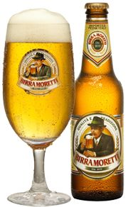 Birra Moretti...one of Robyne and My favorites!