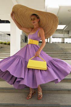 Purple Fashion, Colorful Fashion, Look Fashion, Fashion Outfits, Womens Fashion, Fashion Design, Fashion Trends, Purple Dress Outfits, Atlantic Pacific