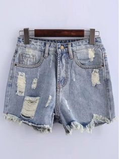 SHARE & Get it FREE | High Waisted Ripped Denim ShortsFor Fashion Lovers only:80,000+ Items • New Arrivals Daily Join Zaful: Get YOUR $50 NOW!