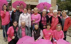 CHARNAY-LÈS-MÂCON Octobre rose : ils ont marché pour la bonne cause. Une quinzaine de participants étaient au départ.  Photo M. P. (CLP)