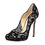 Leather Women's Stiletto Heel Peep Toe Pumps/Heels Shoes(More Colors)
